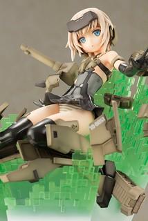 色彩翻新再登場!壽屋《Frame Arms Girl 骨裝機娘》轟雷 -SESSION GO!!- :RE PVC塗裝完成品