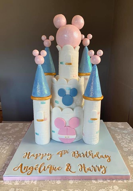 Castle Cake by Kelly Greenleaf of The Little Kitchen Cakery