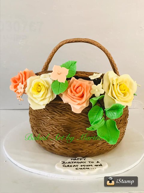 Cake from Baked Art by Martha