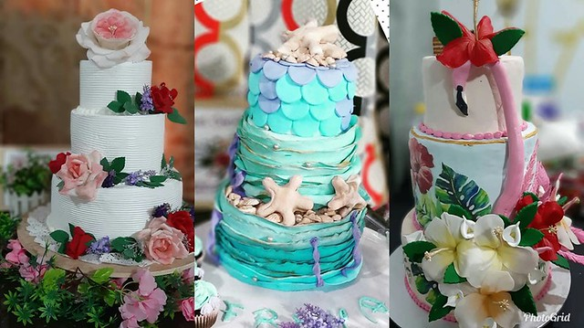 Cake by Tina Mallari of Tina's Sweet Confection