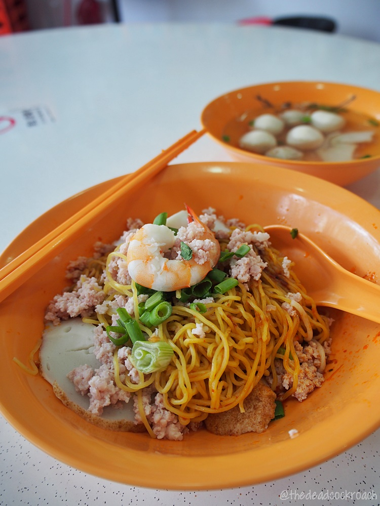 bee yee teochew fish ball kuay teow mee, commonwealth crescent market & food centre, fish ball mee pok, food, food review, review, singapore, 潮州, 美益, 美益潮州著名魚丸粿條麵, 魚丸麵,