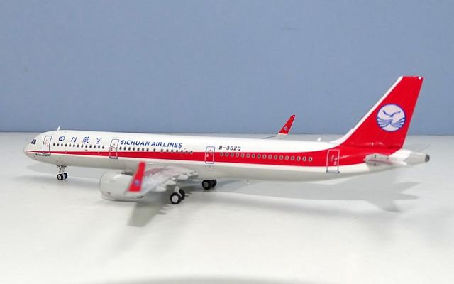 Sichuan Airlines Airbus A321neo B-302Q
