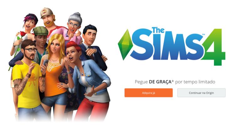 Último Dia para Pegar o The Sims 4 de Graça