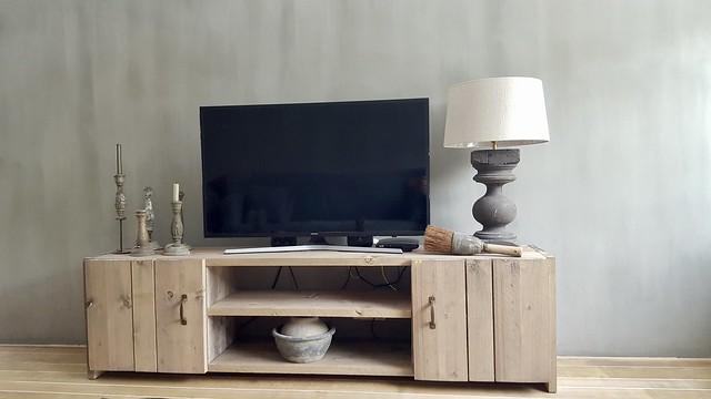 Landelijk tv-meubel ideeën