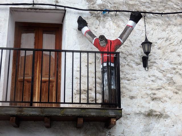 Desde el balcón - Fuentes de Ágreda (Soria)