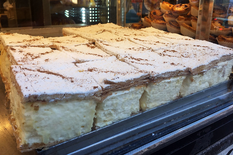 Vanilla slice: O Forno dos Clérigos