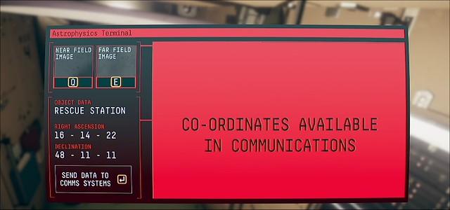 Beobachtung - Nahfeld-Kommunikationsterminal für Astrophysik