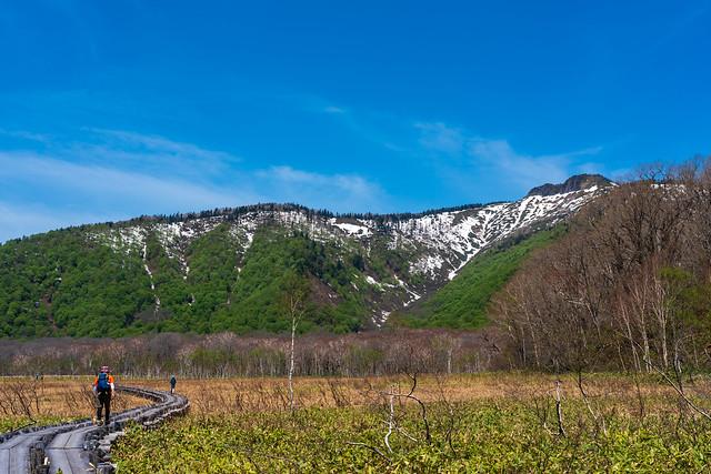 景鶴山を眺めながら