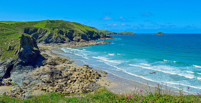 A perfect day, Polzeath, Cornwall, England