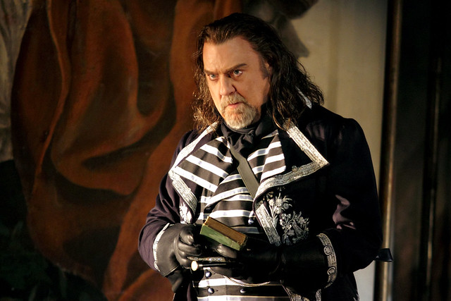 Bryn Terfel as Baron Scarpia in Tosca, The Royal Opera © 2019 ROH. Photograph by Catherine Ashmore