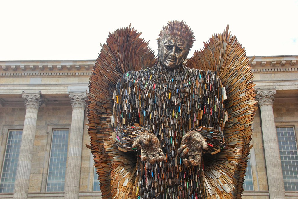 Knife Angel, Victoria Square, Birmingham