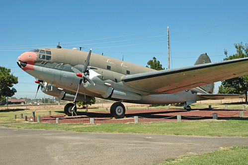Curtiss C-46 Commando at the Castle Air Museum