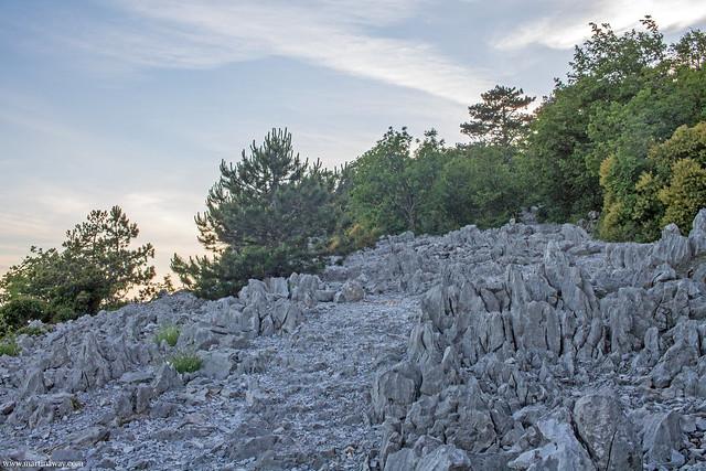 Sentiero Rilke, Carso