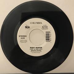 RICKY MARTIN:LIVIN' LA VIDA LOCA(RECORD SIDE-B)