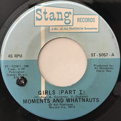 MOMENTS AND WHATNAUTS:GIRLS(LABEL SIDE-A)