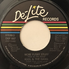 KOOL & THE GANG:FUNKY STUFF(LABEL SIDE-B)