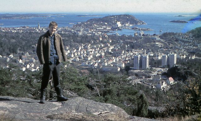 Me 18 year in 1962, town is Kristiansand Norway
