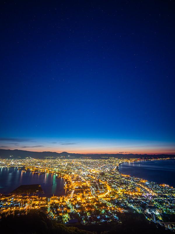 函館山藍調|Hakodate