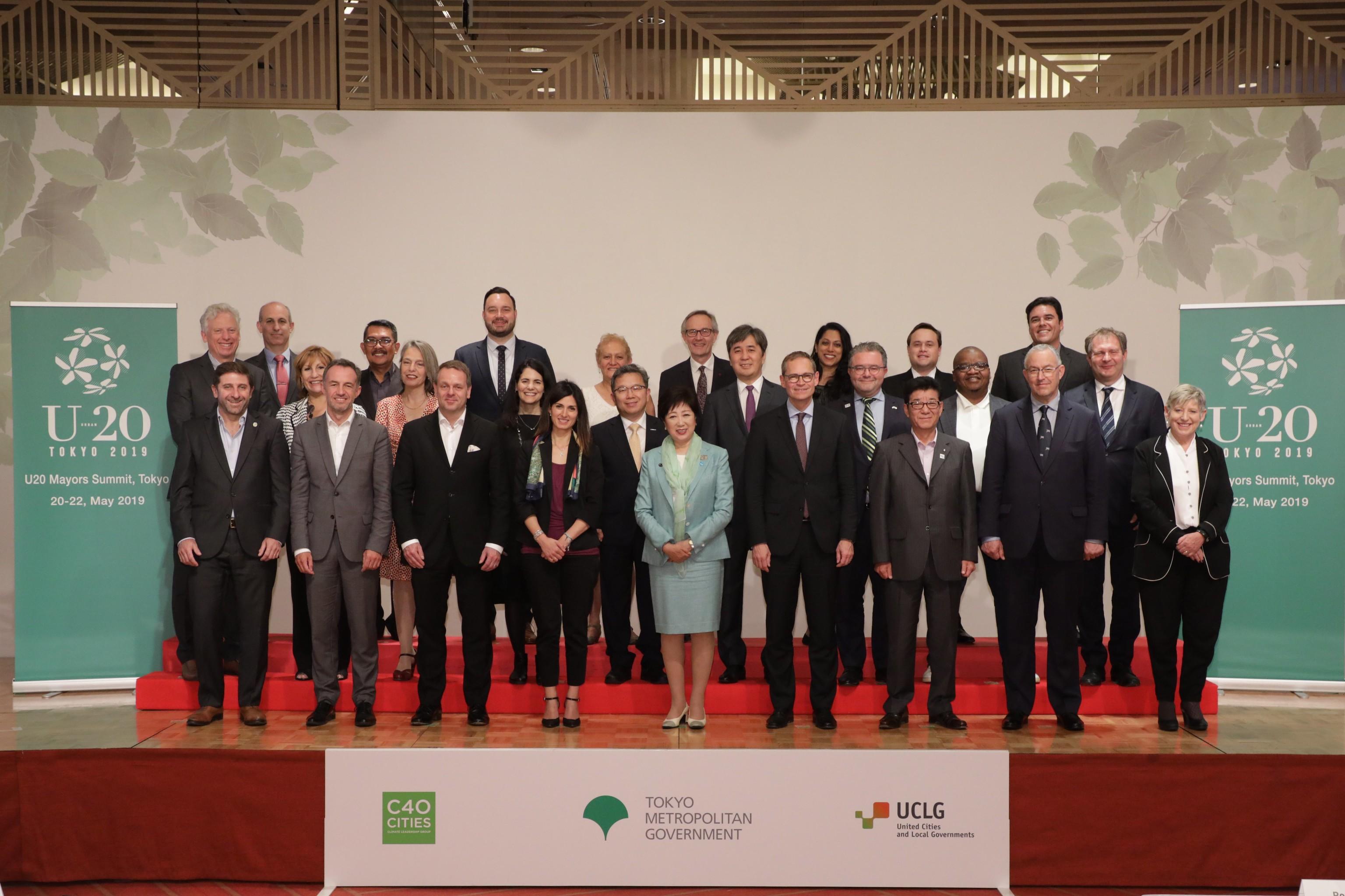 Urban 20 Mayors Summit Tokyo, 20-22 May 2019