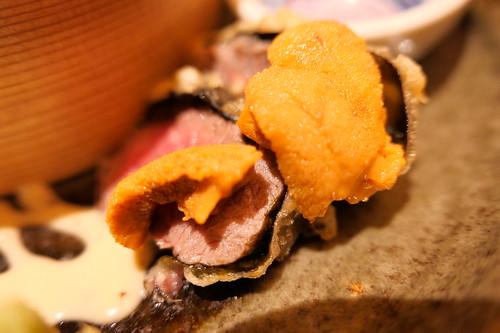 sea urchin beef KINKA sushi bar Izakaya 17