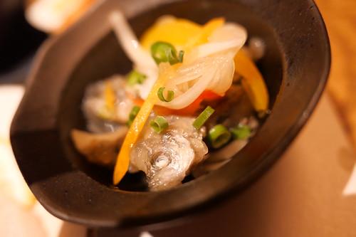 horse mackerel nanban KINKA sushi bar Izakaya 09