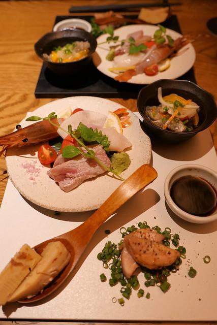 appetizer sashimi KINKA sushi bar Izakaya 05