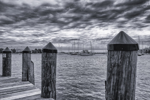 annapolis landscape boats clouds dock monochrome outdoor river sailing sky summer