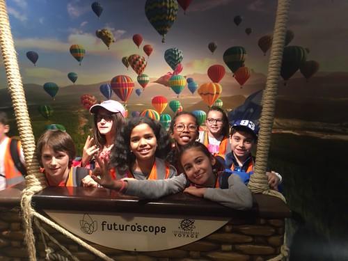 Voyage au Futuroscope CM 2 A&B 2019