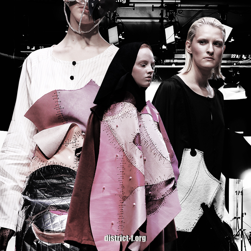 DISTRICT F — MBFW Russia, Futurum Moscow — Lianella Al-Nadzhi AW19 preview