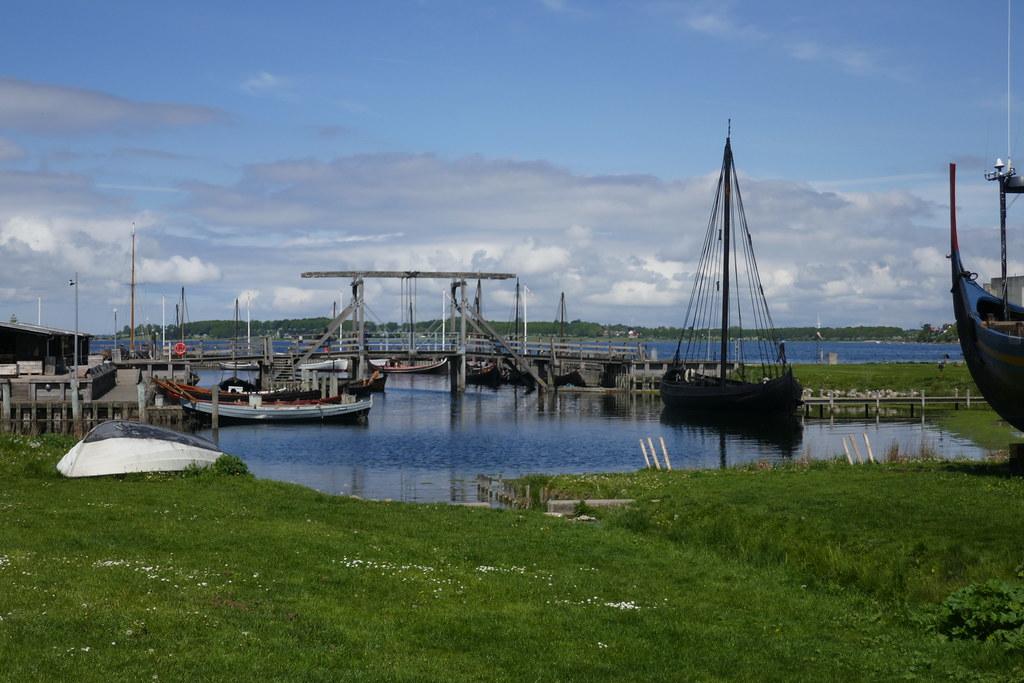 Musée des navires vikings, Roskilde, Sjælland, Danemark.