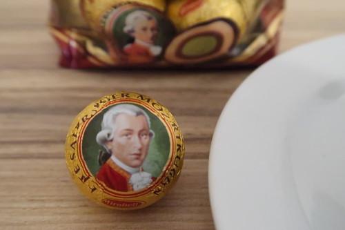 Echte Salzburger Mozartkugel von Mirabell (noch verpackt)