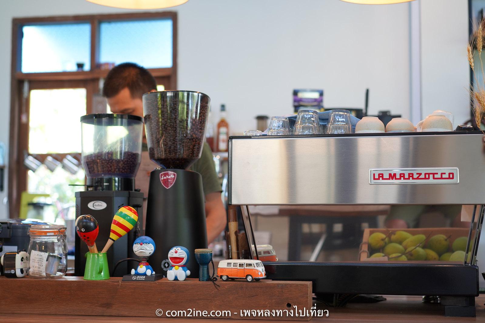 คราฟท์คาเฟ่ - เครื่องชงกาแฟของ La Marzocco