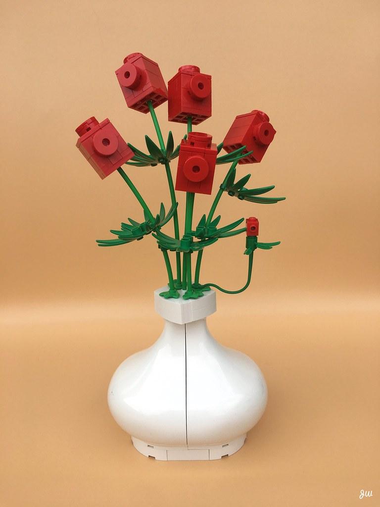 Red Brick Flowers