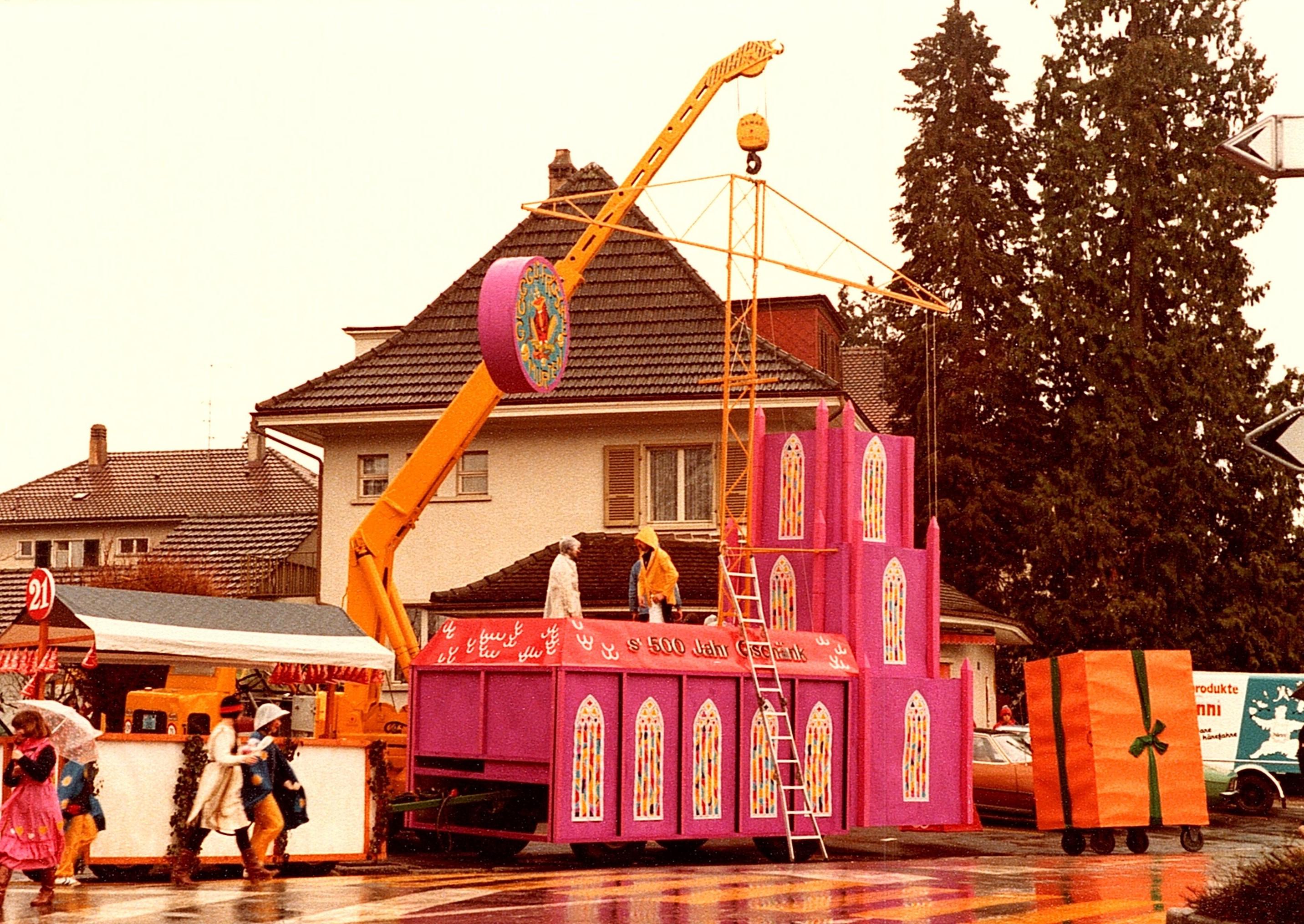 1981 Umzug