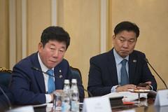 Встреча Валентины Матвиенко с Председателем Национального собрания Республики Корея Мун Хи Саном