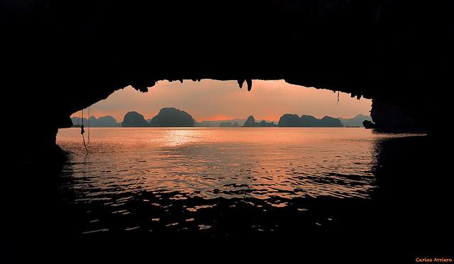 Bahía de Ha-Long (Vietnam).