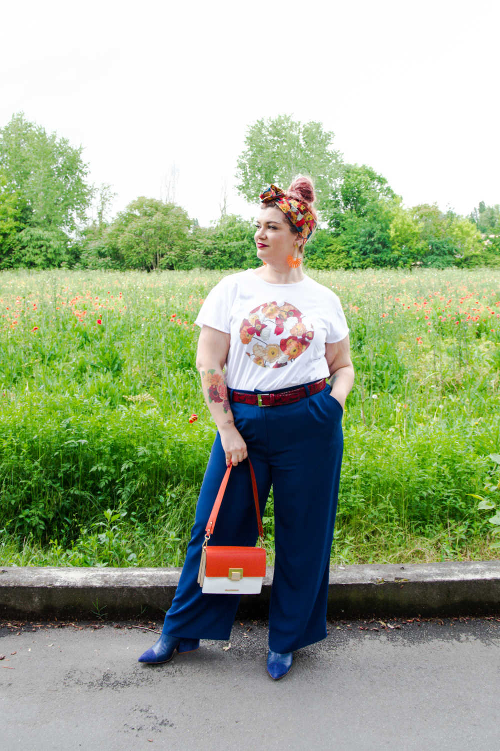 Outfit curvy plus size, tshirt (8)