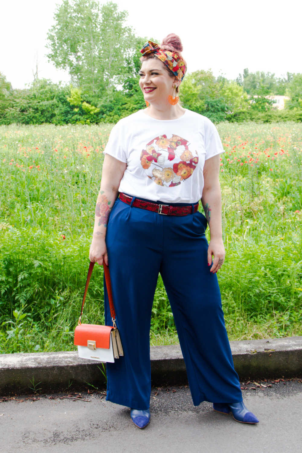 Outfit curvy plus size, tshirt (2)