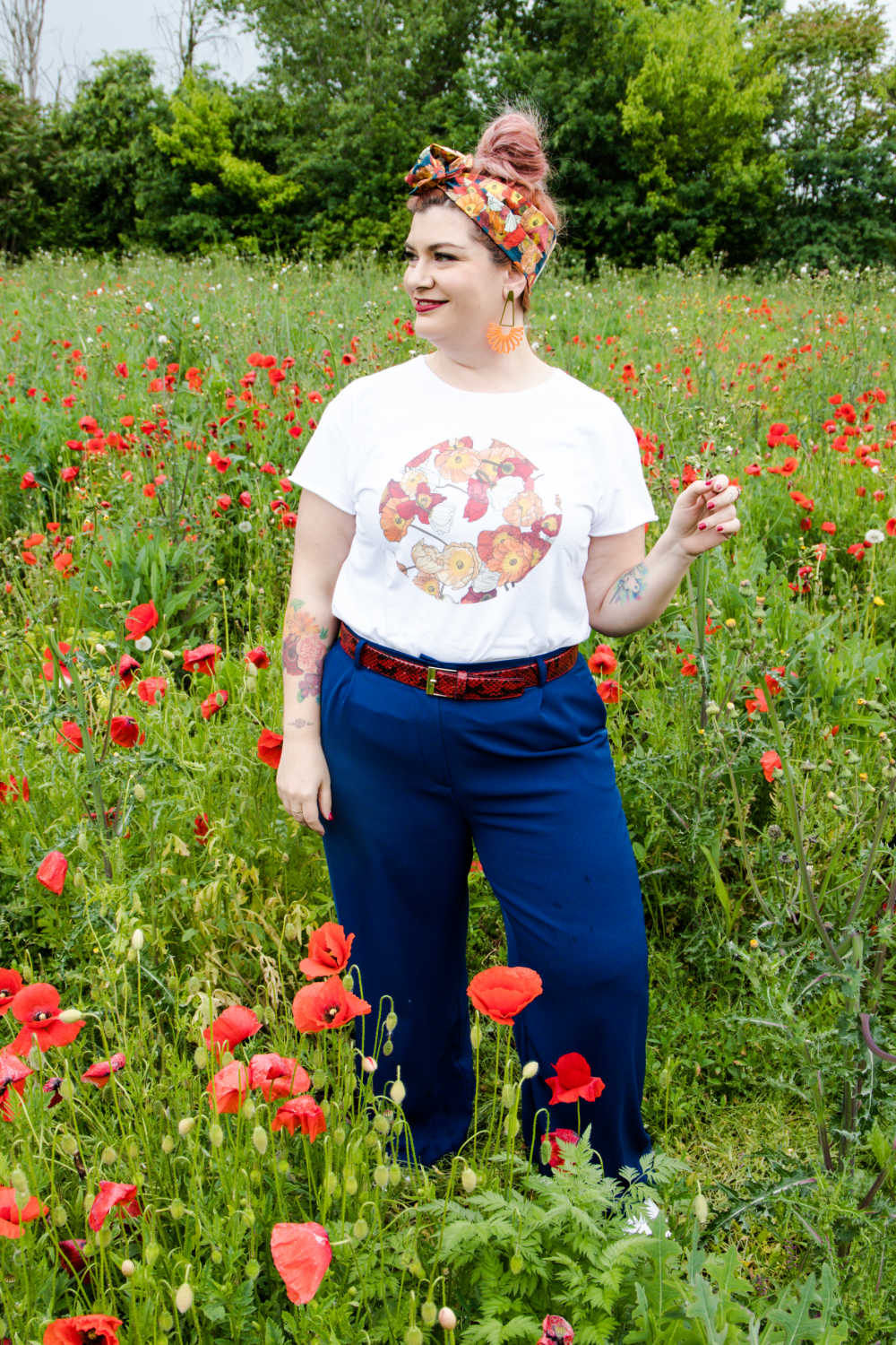 Outfit curvy plus size, tshirt (6)
