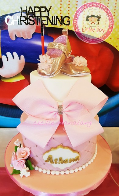 Christening Cake by Cecille Develos of LittleJoy