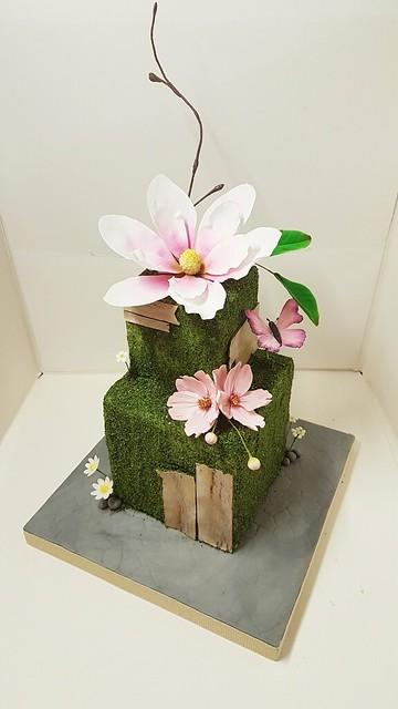 Magnolia Cake by Tania Chiaramonte