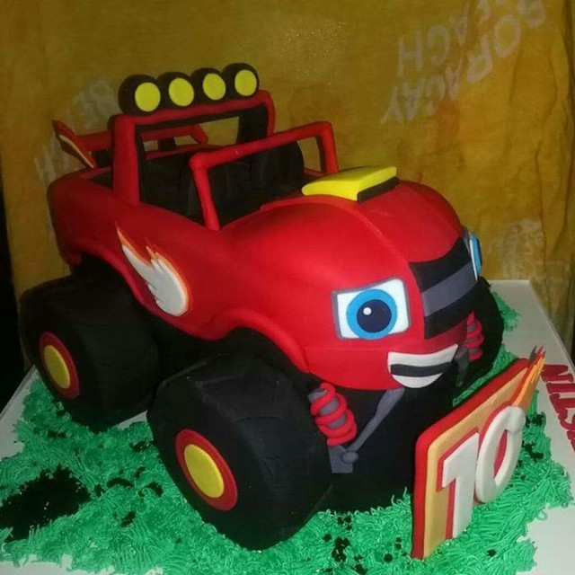 Blaze the Monster Truck by Suzanne Tan Dionio