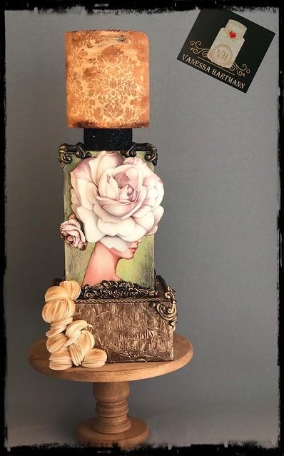 Lady in Bloom by Vanessa Hartmann
