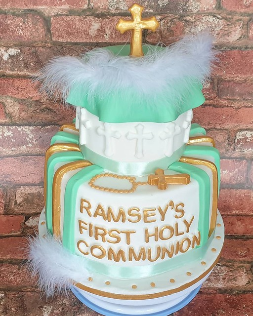 Communion Cake by Rafaela Sawicka of Raf's Creative Bakes