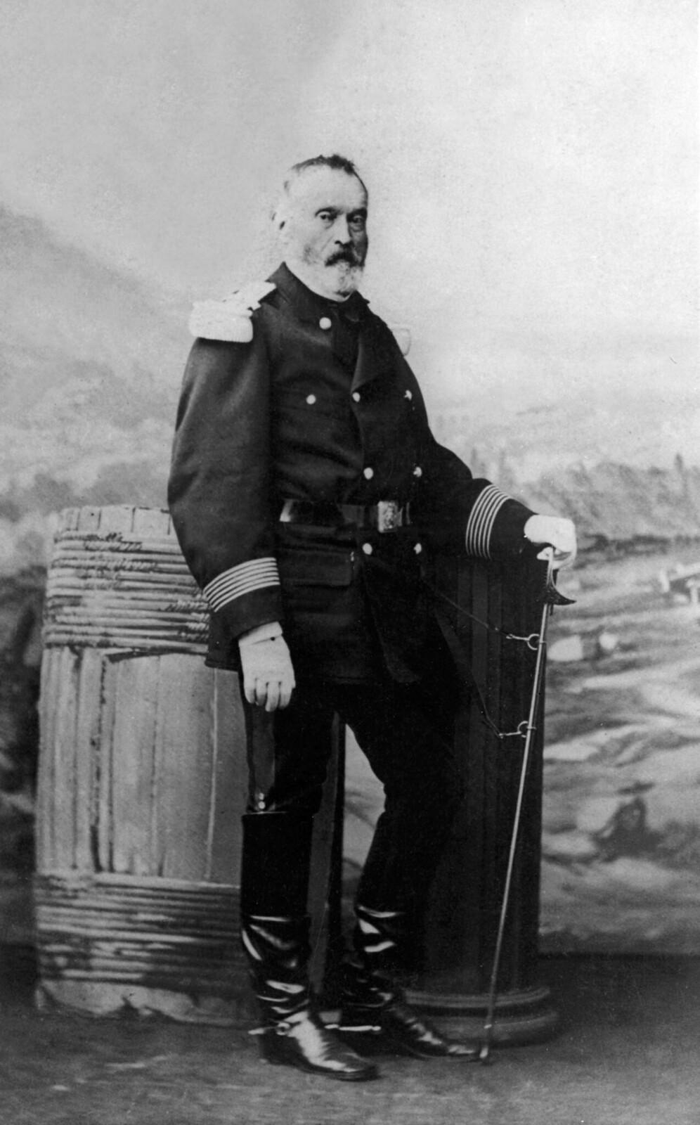1871. Жак Леонард Клемент Томас (1809-1871) французский генерал, он будет застрелен во время Коммуны Парижа