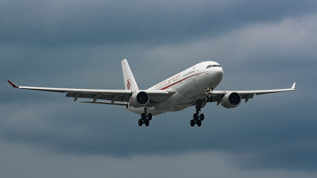 Air Algerie Dark Approach