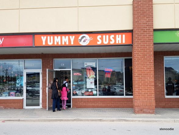 Yummy Sushi storefront
