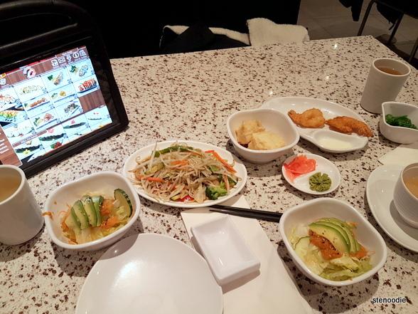 Yummy Sushi food
