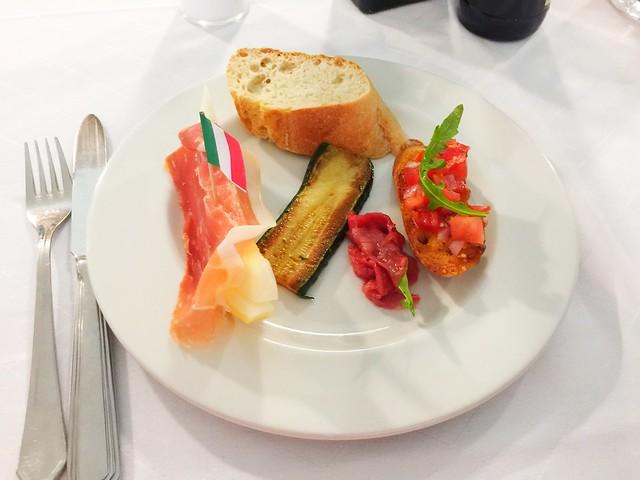 Antipasti - Restaurant La Zucca