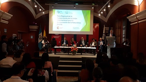 Foro Regional de la Conservación de la UINC y apertura de la Reunión Extraordinaria del Consejo de Ministros de CCAD